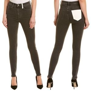 Current/Elliott Ultra High Waist Skinny Jeans